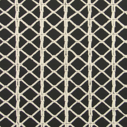 Ply Chenille Grid White/Black 001 Unique | Fabrics | Maharam