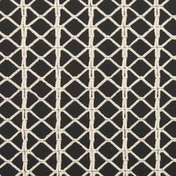Ply Chenille Grid White/Black 001 Unique | Tessuti | Maharam
