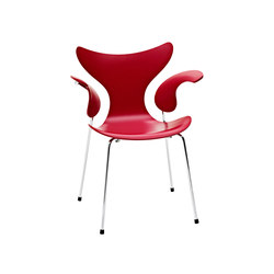 Lilie™ | 3208 | Visitors chairs / Side chairs | Fritz Hansen
