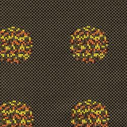 Repeat Dot Pixel 001 Cocoa | Tessuti | Maharam