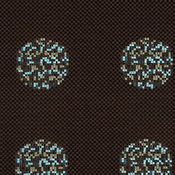 Repeat Dot Pixel 003 Chocolate | Upholstery fabrics | Maharam