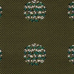 Repeat Dot Pixel 002 Evergreen | Upholstery fabrics | Maharam