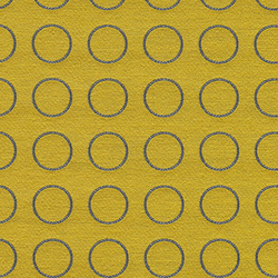 Repeat Dot Ring 001 Gold | Fabrics | Maharam