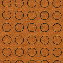 Repeat Dot Ring 002 Sienna | Fabrics | Maharam