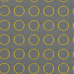 Repeat Dot Ring 007 Gold Reverse | Upholstery fabrics | Maharam