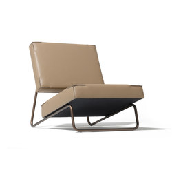 Lounge chair Hirche | Poltrone | Lampert
