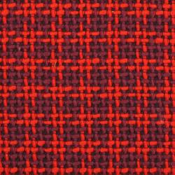 Shepherds Check 005 Berry Scarlet | Tessuti | Maharam