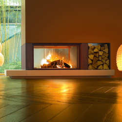 Gaudi | Forma B95 Wood | Wood fireplaces | MCZ