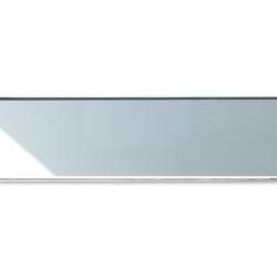 ACO ShowerDrain E-line gerade Glas, chrom | Linear drains | ACO Haustechnik