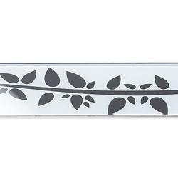 ACO ShowerDrain E-line straight Floral, weiß | Linear drains | ACO Haustechnik