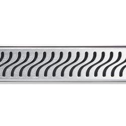 ACO ShowerDrain E-line round Flag | Linear drains | ACO Haustechnik