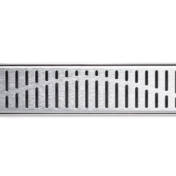 ACO ShowerDrain E-line angled Wave | Linear drains | ACO Haustechnik