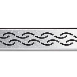 ACO ShowerDrain E-line angled Chain | Linear drains | ACO Haustechnik