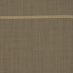 Topstitch 004 Taupe/Chocolate | Curtain fabrics | Maharam