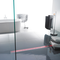 ACO ShowerDrain Lightline: Red | Linear drains | ACO Haustechnik