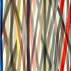 Transparent Stripe 001 Unique | Wall coverings / wallpapers | Maharam