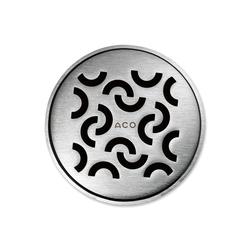 ACO ShowerDrain Badablauf rund Curl | Plate drains | ACO Haustechnik