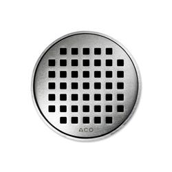 ACO ShowerDrain Badablauf rund Quadrato | Plate drains | ACO Haustechnik