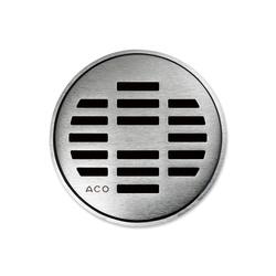 ACO ShowerDrain Badablauf rund Linea | Plate drains | ACO Haustechnik