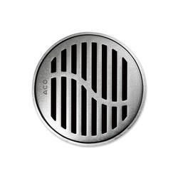 ACO ShowerDrain Badablauf rund Wave | Plate drains | ACO Haustechnik