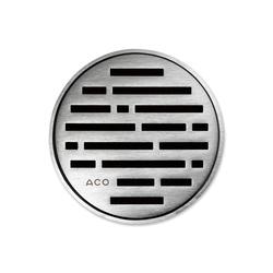 ACO ShowerDrain Badablauf rund Mix | Plate drains | ACO Haustechnik