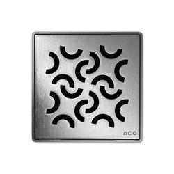 ACO ShowerDrain Badablauf eckig Curl | Punktabläufe / Badabläufe | ACO Haustechnik