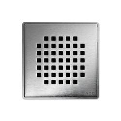 ACO ShowerDrain Badablauf eckig Quadrato | Punktabläufe / Badabläufe | ACO Haustechnik