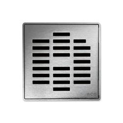 ACO ShowerDrain Badablauf eckig Linea | Punktabläufe / Badabläufe | ACO Haustechnik