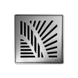 ACO ShowerDrain Badablauf eckig Palm | Plate drains | ACO Haustechnik