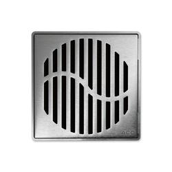 ACO ShowerDrain Badablauf eckig Wave | Punktabläufe / Badabläufe | ACO Haustechnik