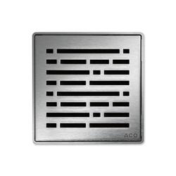 ACO ShowerDrain Badablauf eckig Mix | Plate drains | ACO Haustechnik