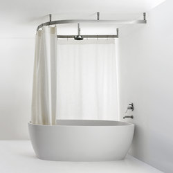 Cooper | Shower curtain rails | Agape
