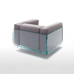 Crystal Lounge | Lounge chairs | Glas Italia