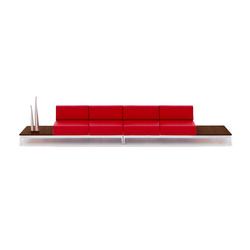 Euphoria XXI Sofa | Modulare Sitzgruppen | GRASSOLER