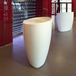 Oval counter | Banques d'accueil | AMOS DESIGN