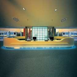 Vessel central counter | Reception desks | AMOS DESIGN