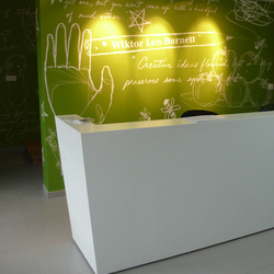 Whitecone reception | Empfangstische | AMOS DESIGN