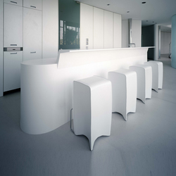 Whiteline kitchen | Cucine a parete | AMOS DESIGN