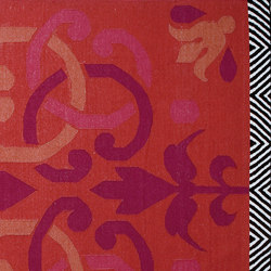 Arabesco Rug Red 1 | Rugs / Designer rugs | GAN
