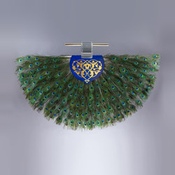 The Solitaire Punkah - The Peacock | Ventilatori a soffitto | Oliver Kessler