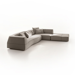 Bend sofa | Pouf | B&B Italia