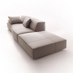 Bend sofa | Poufs | B&B Italia