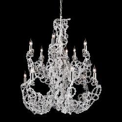 Coco chandelier round | Ceiling suspended chandeliers | Brand van Egmond