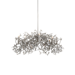 Icy Lady chandelier | Ceiling suspended chandeliers | Brand van Egmond