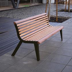 diva | Park bench with backrest | Panche da esterno | mmcité