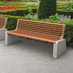 forma | Park bench with backrest | Exterior benches | mmcité