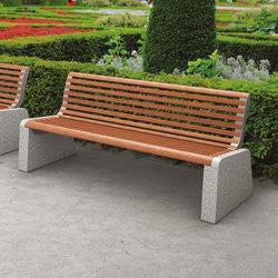 forma | Park bench with backrest | Panche da esterno | mmcité