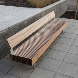 woody Park bench | Exterior benches | mmcité