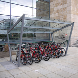 edge | Bicycle shelter | Bicycle shelters | mmcité