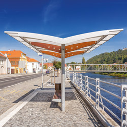 regio |  Two-sided bus stop shelter | Bus stop shelters | mmcité